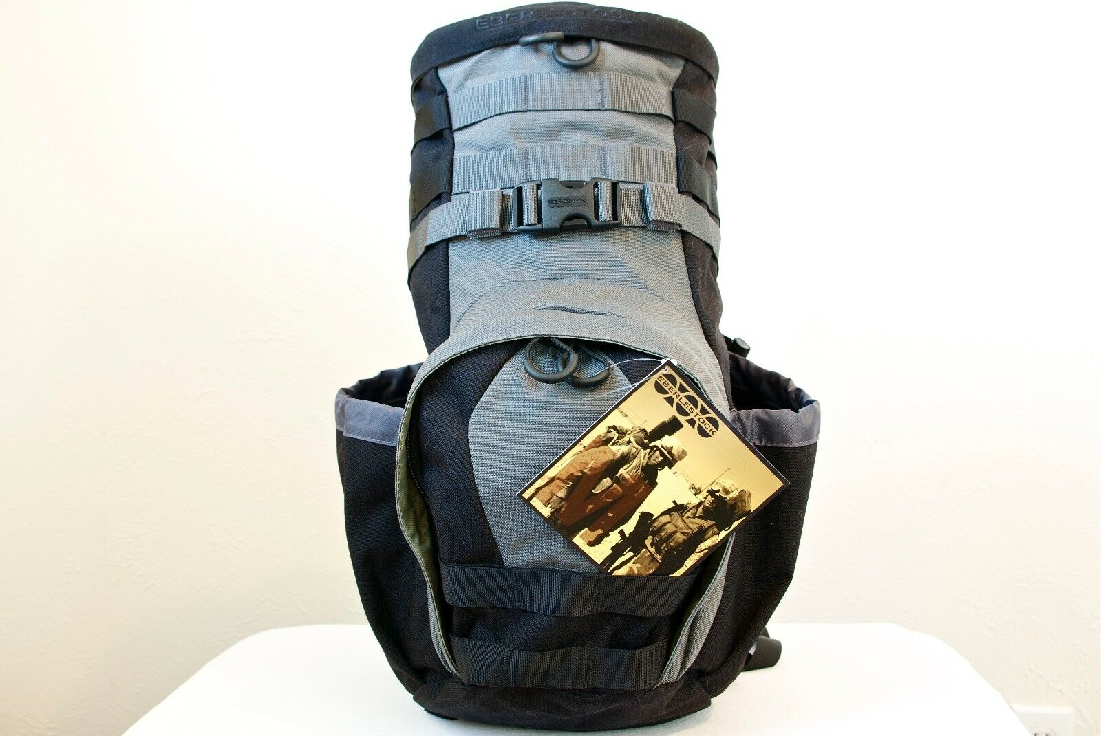 Eberlestock aserrada-off (H3) hydrobackpack Negro gris _ no vejiga Manguera de _ Nuevo con etiquetas