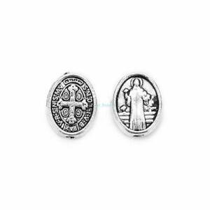 wholesale-Catholic-Religious-Enamel-Medals-Charms-Pendants-holy-Cross-50Pcs-10mm
