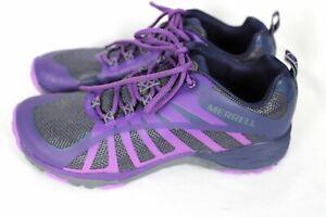Merrell Womens SIREN EDGE Q2 Purple Hiking Trail Shoes Sz 7 7.5 8 NWOB J65412