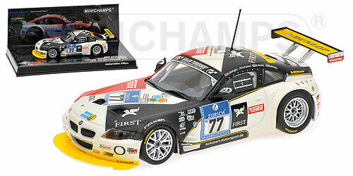 Bmw Z4 M Coupe' Muller 24H Nurburgring 2009 Minichamps 1 43 400092777 Miniature