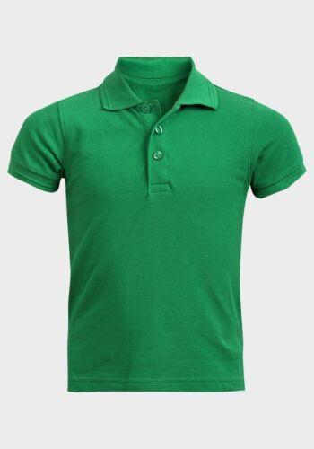 Ex M/&S Enfants Garçons Filles Ecole Uni Polo T-shirt P.E Sport T shirt Gym