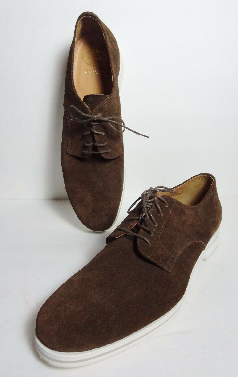 New Church's Suede brown Leather Loafers Waterline shoes Mens 12 uk   13 us