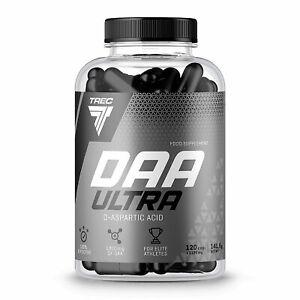 DAA ULTRA 120 Caps Pills Strong Legal Testosterone Booster D-Aspartic Acid BEST eBay