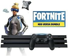 Sony PS4 Pro Fortnite Neo Versa Bundle