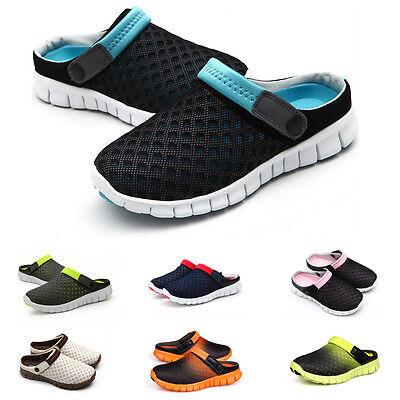 Herren Damen Unisex Schuhe Hausschuhe Badeschuhe Sandalen Clogs MeshJOUY