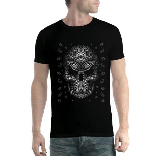 Schädel Bandana Tätowierung Herren T-shirt XS-5XL