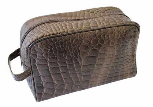 Ceka Messieurs CULTURE sac marron en cuir culture sachet sachet sachet de lavage Sac lavage sachet 51942 68d841