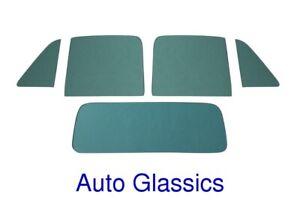 Glass Green Tint Chevy GMC Pickup Truck 1951 1952 1953 1954 Vent Door Back