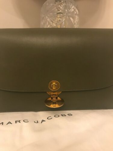 Shoulder Trouble Marc Stunning Jacobs Olive Leather Bag qwPaCXI