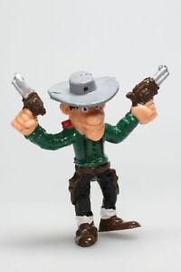 Figurine plastique Lucky Luke William Dalton pistolets levés