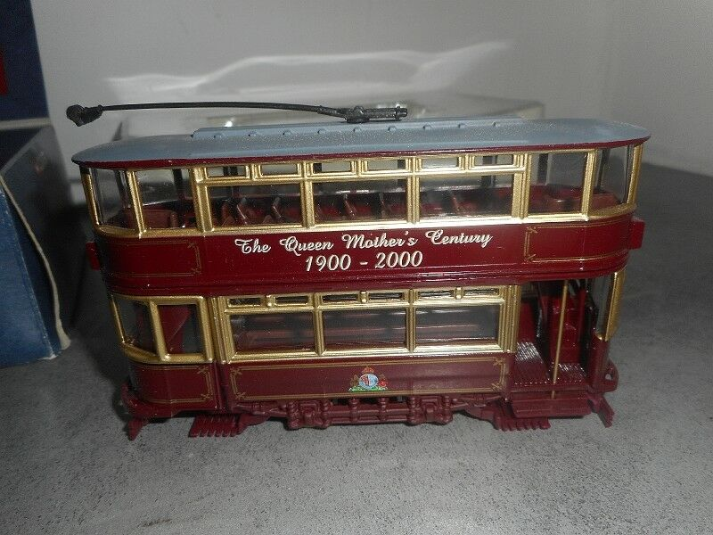 CORGI THE QUEEN MOTHER'S MOTHER'S MOTHER'S CENTURY N°36709 FULLY CLOSED TRAM 6d194c
