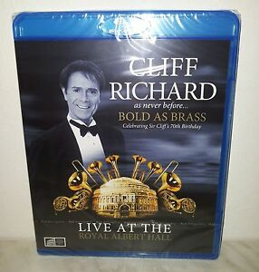 BLURAY-CLIFF-RICHARD-BOLD-AS-BRASS-NUOVO-NEW