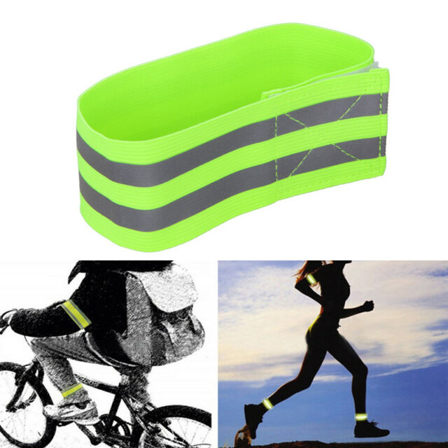 4Pcs Bicycle Safety Pants Pant Leg Band Cycling Running Trousers Ankle Straps