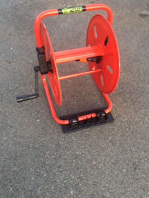 Compacto Solo Metal Carrete Portamanguera Solo Compacto Reel  Soporte ec4058