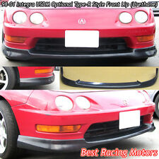 USDM Optional TR Style Front Lip (Urethane) Fits 98-01 Acura Integra 4dr