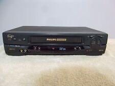 Philips Magnavox VRZ-264 VCR Plus 4 Head Video Cassette Recorder VHS Player