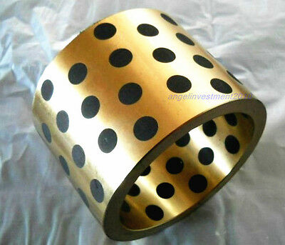 New 8*12* 15mm JDB graphite lubricating brass bearing bushing sleeve oilless