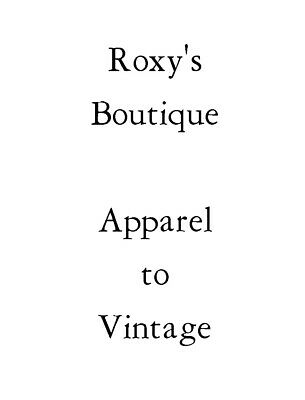 Roxy's Boutique Clothing to Vintage