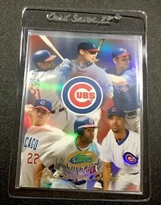 Details About 2004 Etopps 117 Cubs Team Baseball Card 3750 In Hand Free Shipping