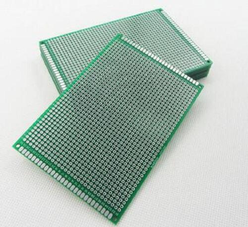 10pcs 8X12cm Double Side Prototype PCB Breadboard Universal Circuit 2.54mm