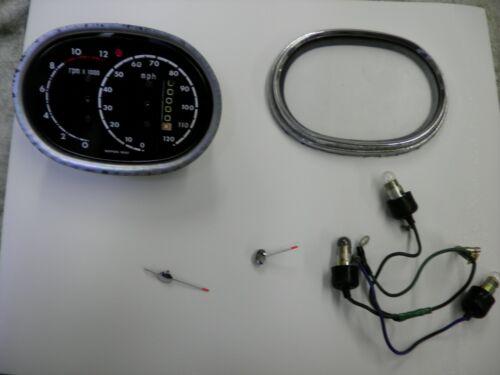 Honda cb77 Superhawk Late Speedometer Overlay Decal