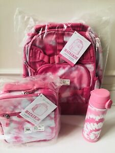 Pottery Barn Kids Large Backpack Tie Dye Pink Punch