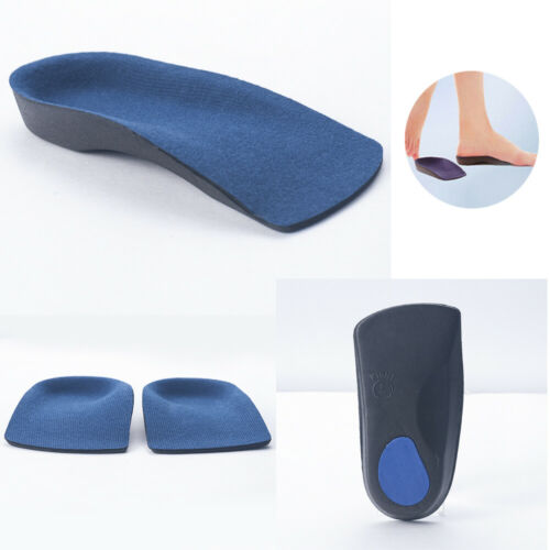 3//4 Useful Orthotic Arch Support Insoles For Plantar Fasciitis Fallen Flat Feet