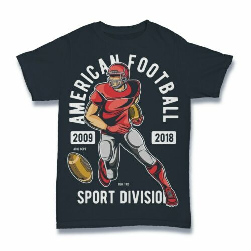 American football Tshirt sport division
