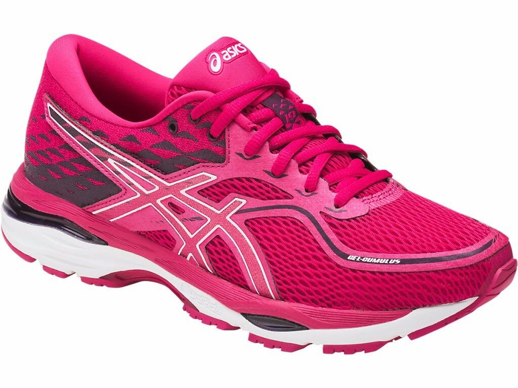 ASICS GEL CUMULUS 19 WOMENS LADIES RUNNING FITNESS GYM TRAINERS SHOES