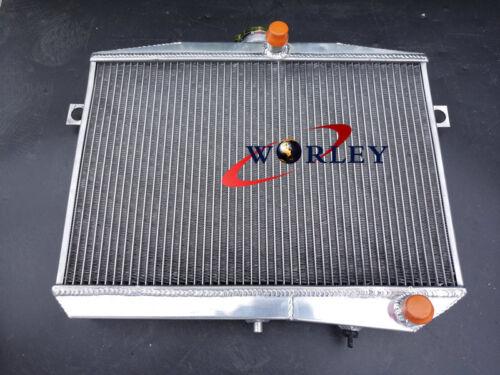 Aluminum Alloy Radiator For 1959-1970 Volvo Amazon P1800 W//B18 B20 GT MT 69 68