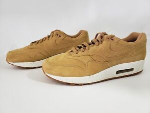 finest selection 00009 12acb Image is loading Nike-Air-Max-1-Premium-Wheat-Flax-Gum-