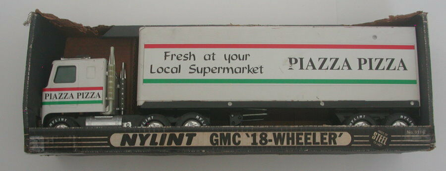 Nylint gmc sattelschlepper ein stahl piazza pizza in der box r16790