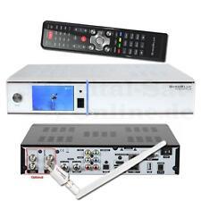 ► GigaBlue HD Quad Plus Linux E2 SAT HDTV TWIN Receiver USB PVR NEU WLAN Weiss