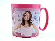 Disney Violetta große Kunststoff Tasse Becher 350ml Pott NEU Mikrowelle Pink