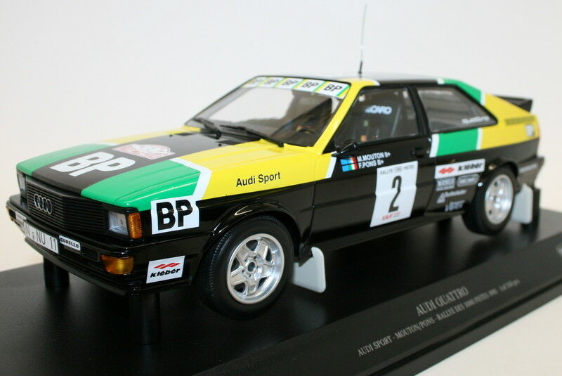 Minichamps 1 18 Diecast 155 811122 Audi Quattro Rally of 1000 pistes 1981