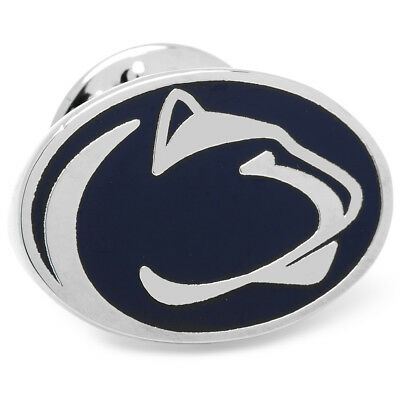 PSU Sterling Silver LogoArt Official Licensed Collegiate Penn State University Crest Lapel Pin