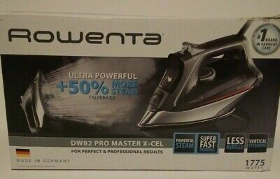 NEW ROWENTA DW82 PRO MASTER X-CEL STEAM IRON SEE NOTE