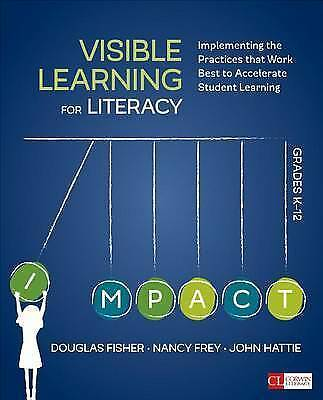 1 of 1 - Visible Learning for Literacy, Grades K-12: Implementing the Practices That Work