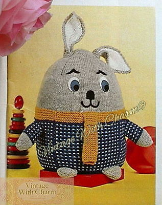 Vintage 40s Toy Knitting Pattern Introducing /'Mr Rabbit!/' JUST £1.99 FREE P/&P