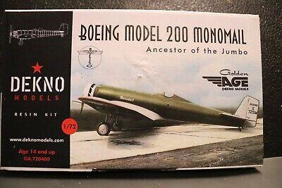 Dekno Models 1//72 KEITH RIDER R-3 1935 Thompson Trophy Race