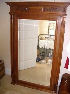 Antique Henri Ll Beveled Mirror Wall Ebay