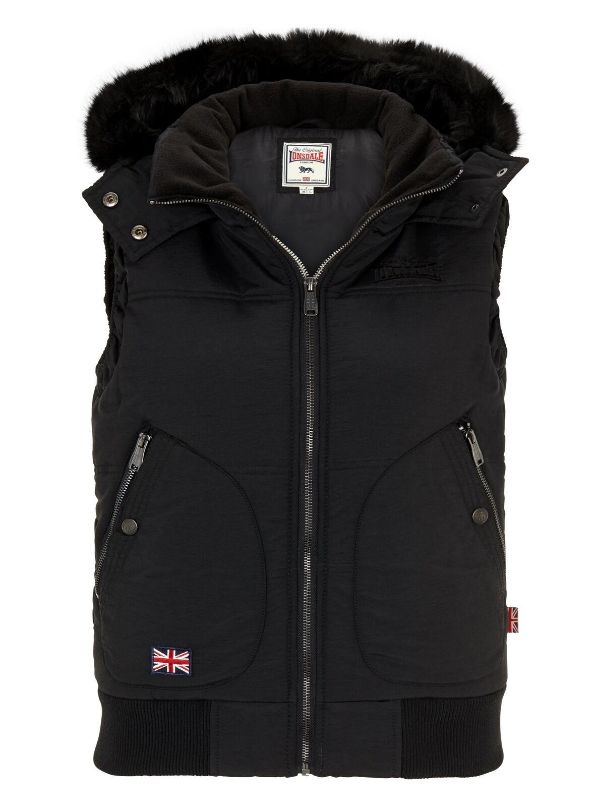 Lonsdale Ladies Vest Ansty Xs S M L XL XXL New