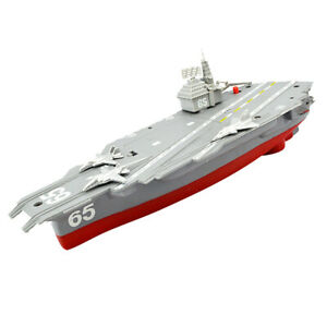 Electric-Mini-Aircraft-Carrier-Children-Educational-Toy-Ship-Model