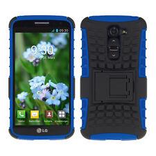 kwmobile Schutz Hülle für Lg G2 Mini Blau Schwarz Case Cover Bumper Handy Tpu