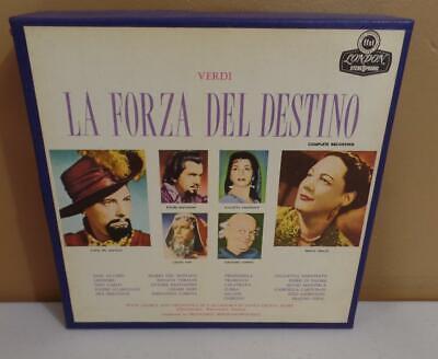Rome Verdi La Forza Del Destino 7.5 Ips Reel To Re L'accademia Disanta Cecilla