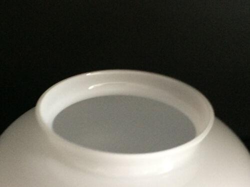 Lampenschirm opal glänzend in vielen Größen Jugendstil Opalglas mit Griffrand