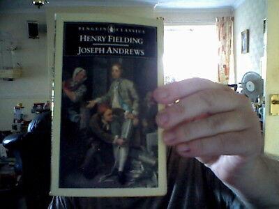 HENRY FIELDING PAPERBACK JOSEPH ANDREWS  PENGUIN FREE CHRISTMAS UK POST