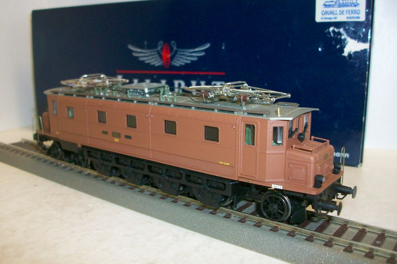 HO LILIPUT LILIPUT LILIPUT L114724   Locomotora E-LoK Ae 4 7 SBB, Ep. II 27c2f6