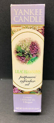 Yankee Candle Lilac Blossoms Potpourri Refresher Oil New In Box Ebay