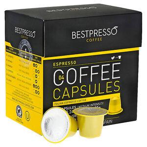 espresso bestpresso nespresso compatible coffee 20 capsules pods medium. Black Bedroom Furniture Sets. Home Design Ideas